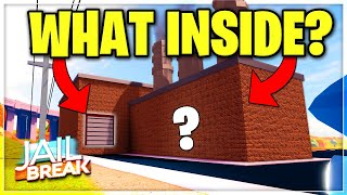 WHAT'S INSIDE THE JAILBREAK FACTORY ROBBERY IN JAILBREAK MAP EXPANSION?! (ROBLOX)