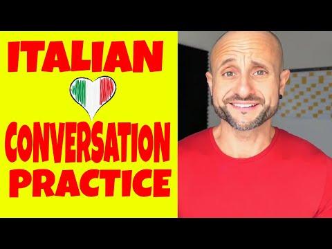 BEGINNER ITALIAN  🇮🇹 Conversation Practice  🇮🇹