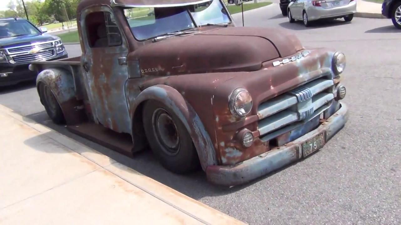 1953 Dodge Rat Rod Truck - YouTube