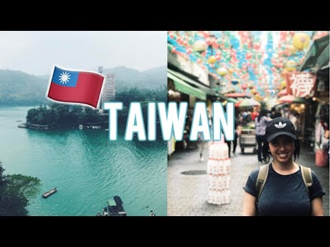 TAIWAN TRAVEL VLOG! Taipei Night Markets, FISH BALLS?! Sun Moon Lake!