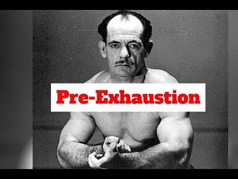 Arthur Jones   Principle #1   Pre-Exhaustion