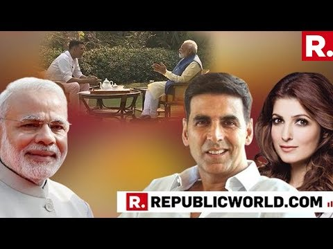 WATCH: Twinkle Khanna Reacts To The PM Modi's Interview With Akshay Kumar