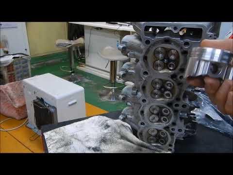 チューニングエンジンバルブシート タペットクリアランス