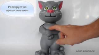 ▶ Интерактивная игрушка Говорящий кот Том с новыми возможностями   YouTube 720p