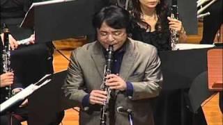 宝塚アカデミー音楽団第6回定期演奏会 クラリネット ソロ 谷口英治氏.