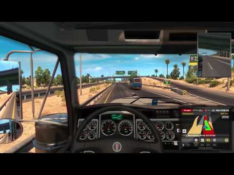 American Truck Simulator-Tucson to Oxnard Part 1