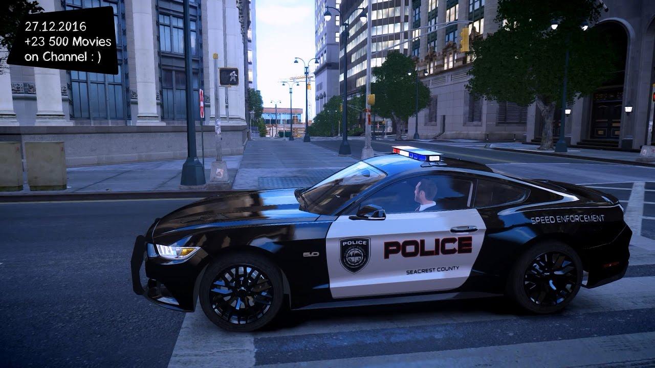 Ford Mustang Gt Police Gta Iv Mod Enb P