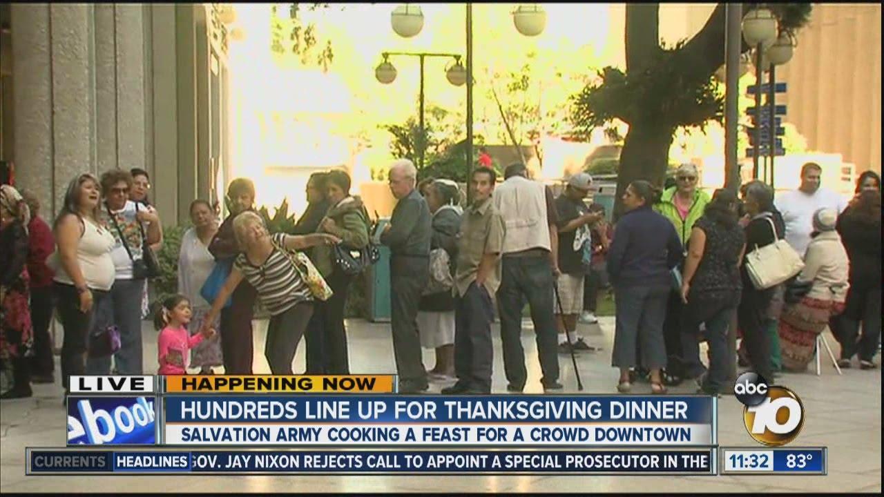 San Francisco Soup Kitchen Volunteer Thanksgiving