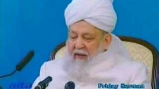 Friday Sermon 20 December 2002.