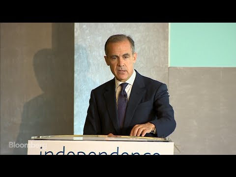 Mark Carney: BOE Alone Can't Deliver Prosperity