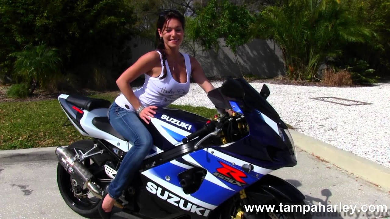 2003 Suzuki GSX-R 1000 Motorcycle for sale - YouTube