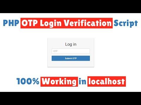 PHP OTP Login Verification Script