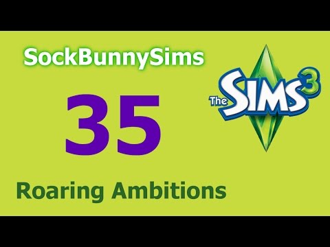 Sims 3 - Roaring Ambitions - Ep 35 - Bad Prom