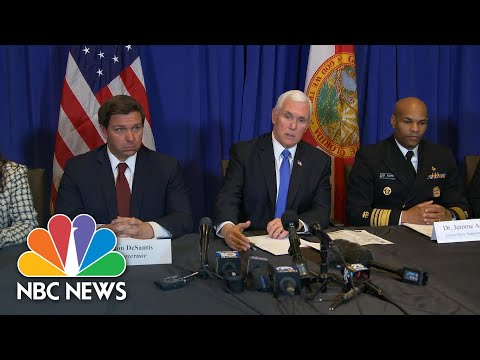 Pence Says Coronavirus Response Is An 'All-Hands-On-Deck Effort' | NBC News