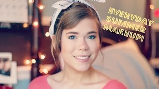 My Everyday Summer Makeup: 2014 | Makeupkatie95 Thumbnail