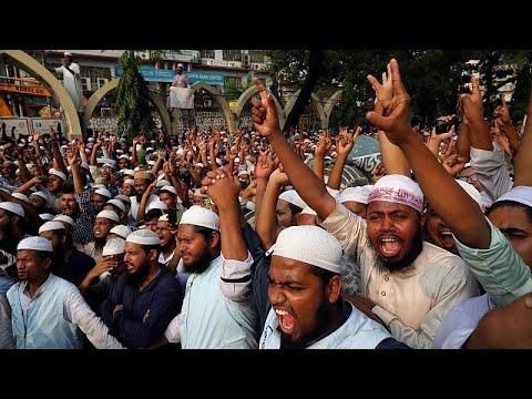 احتجاجات في بنغلادش بسبب منشور -مُسيء للنبي محمد- على فيسبوك …  - نشر قبل 7 ساعة