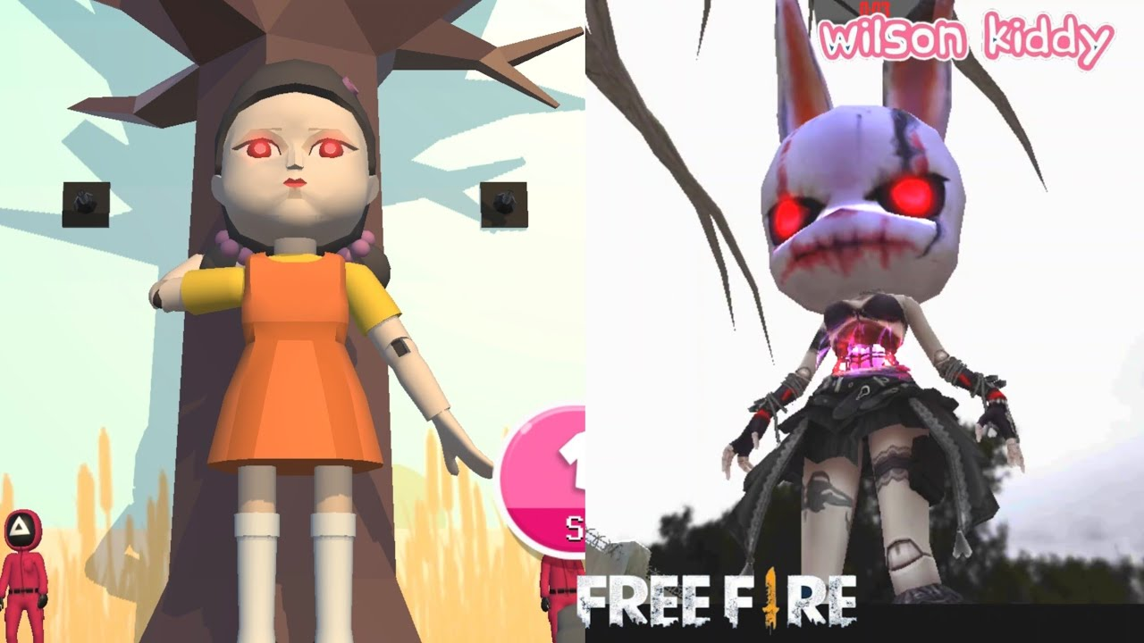 Download Main Squid Game Versi Free Fire 👍‼️ | Game Wilson Kiddy