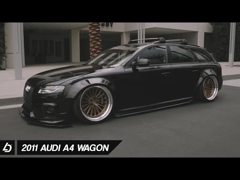 bagged audi a4 wagon on dpe wheels youtube. Black Bedroom Furniture Sets. Home Design Ideas