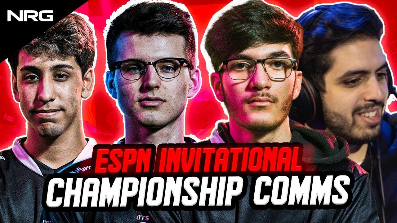 NRG ESPN Rocket League Championship Winning Comms | SquishyMuffinz, JSTN, GarrettG, Sizz