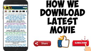 How we download latest movie from tamilrockers