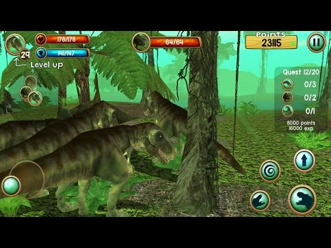 Tyrannosaurus Rex Sim 3D Android Gameplay #3