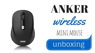Anker Wireless Mini Mouse Unboxing & Test | SoleilTech