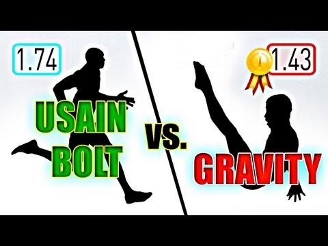 Usain Bolt vs. Gravity