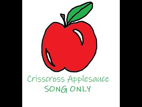 criss cross applesauce tik tok song
