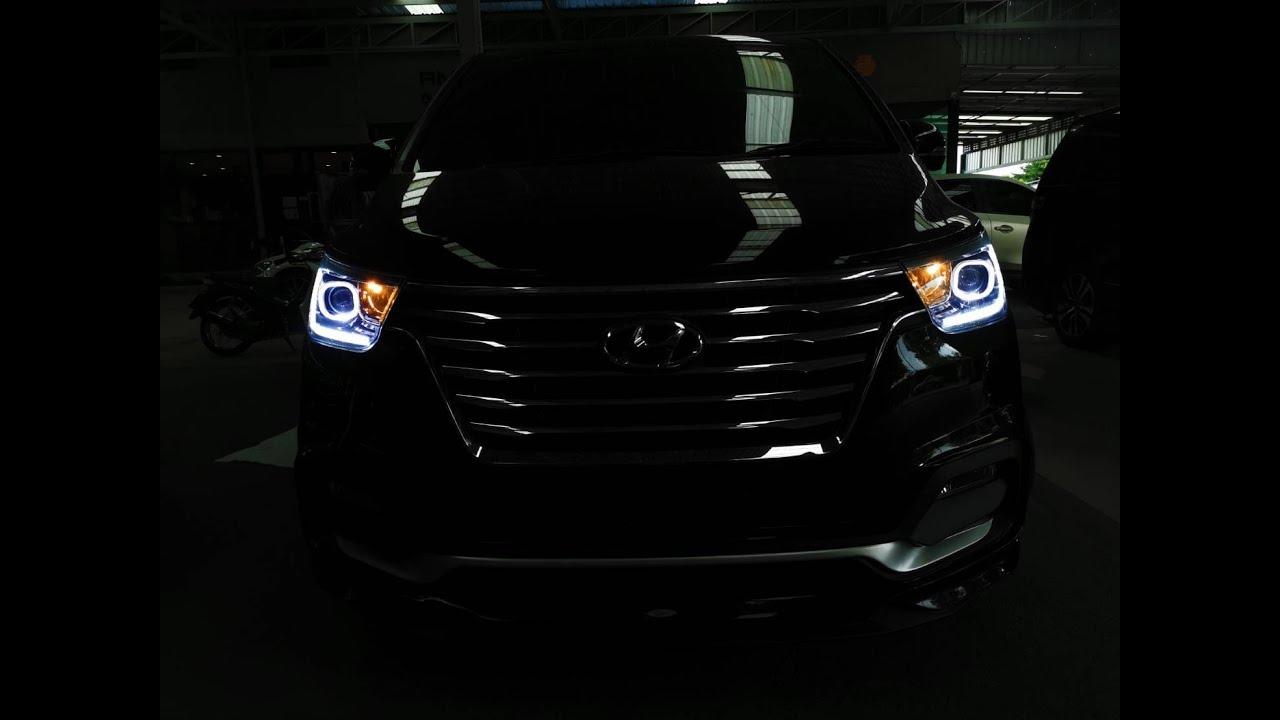 รีวิว Hyundai H1 2018-2019 ชุดแต่ง V1 โทร 0956699668 Line @gtcostume