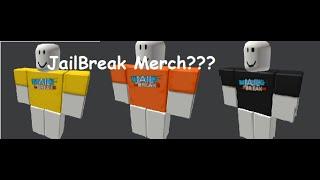 Roblox JailBreak has Roblox Merch!?!?