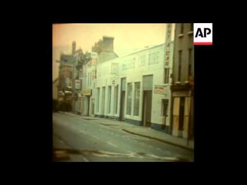 SYND 24/2/72 BOMBS BLAST IN BELFAST AND STRABANE