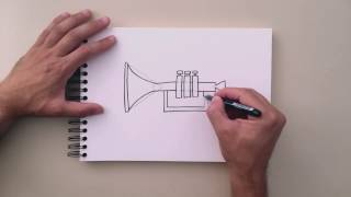 How to Draw - Trumpet