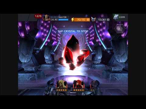 Marvel contest of champions - 4 and 5 star crystal opening