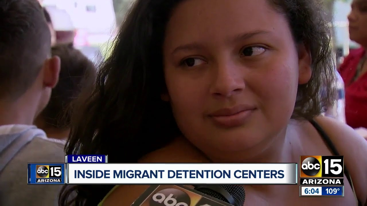 Temporary detention center for migrants opens in Yuma
