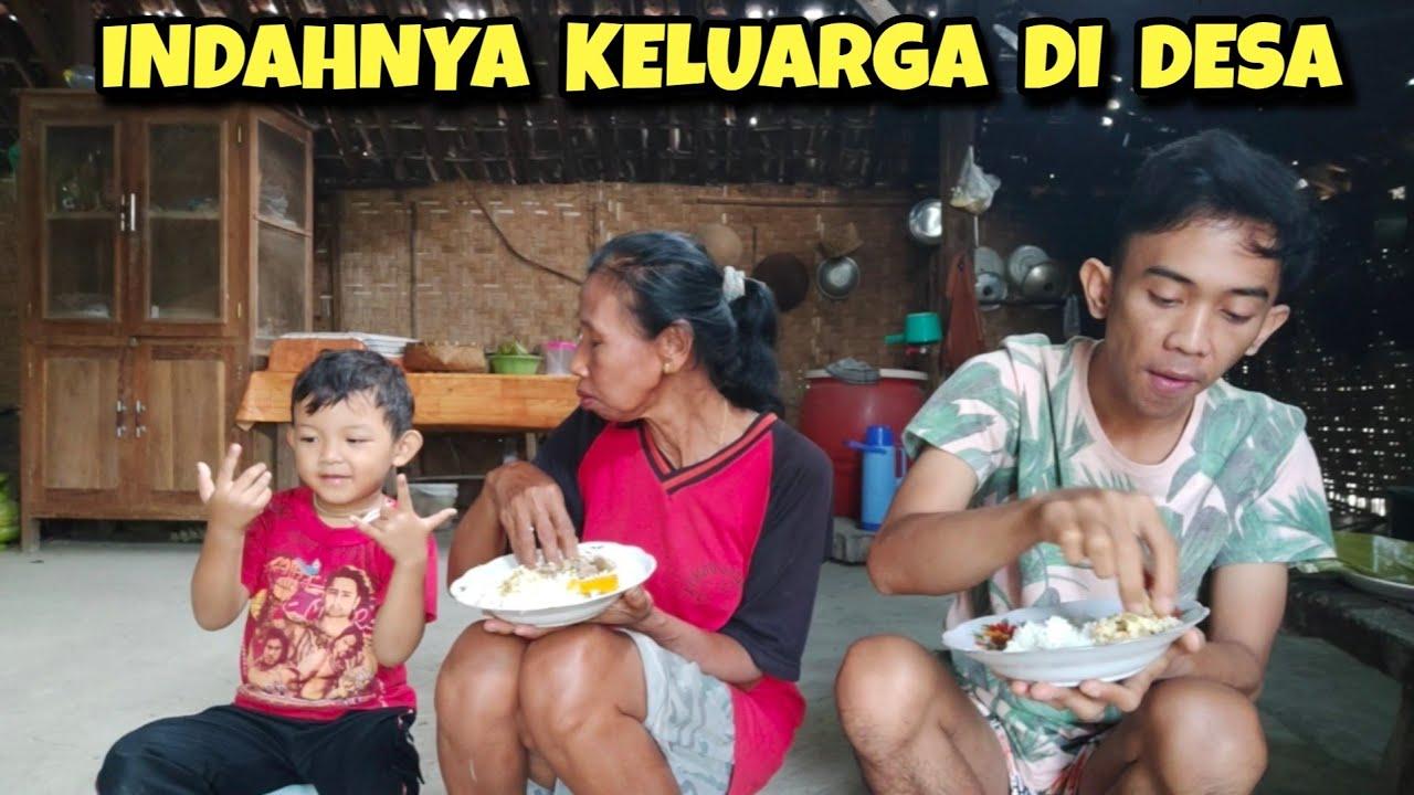 Sarapan botok lamtoro bareng Emak | Kehidupan Desa