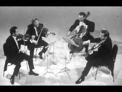 Borodin Quartet play Borodin String Quartet no. 2 - video 1973