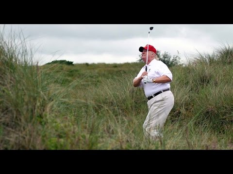 Image result for donald trump playing golf photo