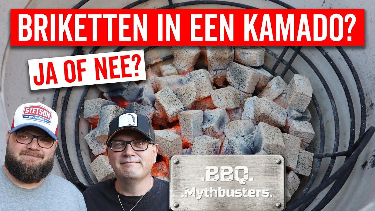 BRIKETTEN IN EEN KAMADO? Ja of nee? BBQ Mythbusters Afl. 1