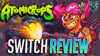 Atomicrops Switch Review - Stardew Gungeon! (Video Game Video Review)