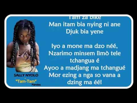 SALLY NYOLO  -  Tam Tam [Paroles - Lyrics]
