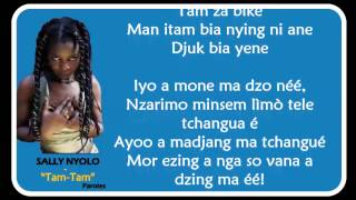Download SALLY NYOLO  -  Tam Tam [Paroles - Lyrics]