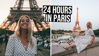 24 Hour Layover in Paris (how to have the perfect day) Video