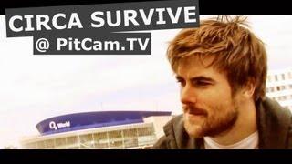 Circa Survive Interview at Western Hotel, Berlin [PitCam]