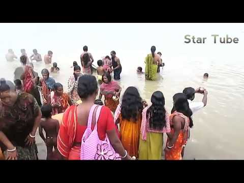 Beautiful hot girls bath in Ganga ji river. Holy river Ganga ji. Open Bath. Beautiful girls in water