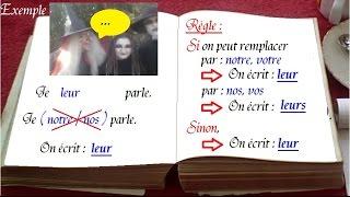 1000 mots en français : leur ou leurs, astuce pour écrire sans faute