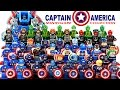 LEGO Captain America™ 2016 Marvel Super Heroes Minifigure Complete Collection