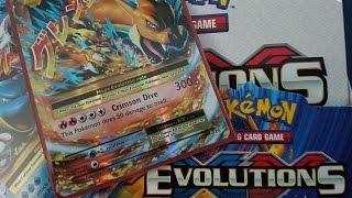 opening a pokemon tcg xy evolutions booster box amazing pulls
