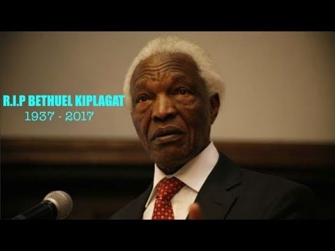 One of a kind: Tribute to the late Bethuel Kiplagat