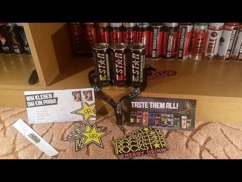 KDCC X VIPEDC - UNBOXING - ESTAR Energy Drink | RockStar Sticker