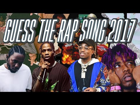 GUESS THE RAP SONG CHALLENGE (2017 EDITION)